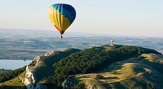 PRÉMIOVÝ let balónem