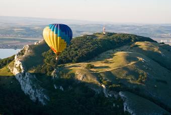 Let balónem Pálava, Mikulov  a Novomlýnské nádrže