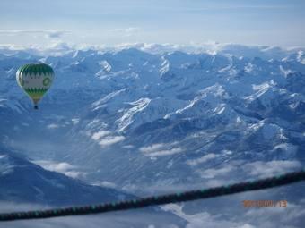 Let přes Alpy, 13.1.2013