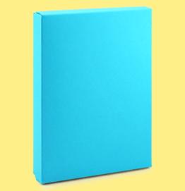 světle modrá krabička