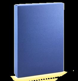 tmavě modrá krabička